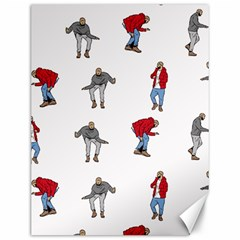 Hotline Bling White Background Canvas 12  x 16