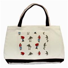 Hotline Bling White Background Basic Tote Bag (Two Sides)