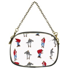 Hotline Bling White Background Chain Purses (One Side)
