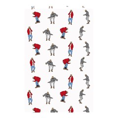 Hotline Bling White Background Shower Curtain 48  x 72  (Small)