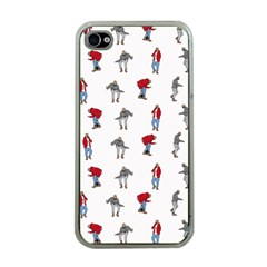 Hotline Bling White Background Apple iPhone 4 Case (Clear)