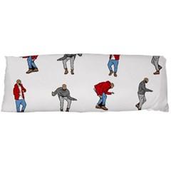 Hotline Bling White Background Body Pillow Case (Dakimakura)