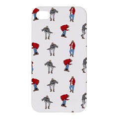 Hotline Bling White Background Apple iPhone 4/4S Premium Hardshell Case