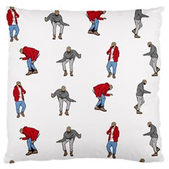 Hotline Bling White Background Large Cushion Case (Two Sides)