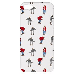 Hotline Bling White Background Apple iPhone 5 Hardshell Case