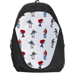 Hotline Bling White Background Backpack Bag