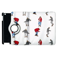 Hotline Bling White Background Apple iPad 3/4 Flip 360 Case