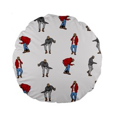 Hotline Bling White Background Standard 15  Premium Round Cushions