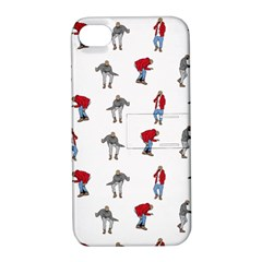 Hotline Bling White Background Apple iPhone 4/4S Hardshell Case with Stand