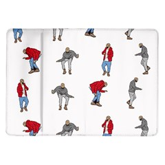 Hotline Bling White Background Samsung Galaxy Tab 10.1  P7500 Flip Case