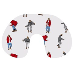 Hotline Bling White Background Travel Neck Pillows