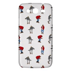 Hotline Bling White Background Samsung Galaxy Mega 5.8 I9152 Hardshell Case