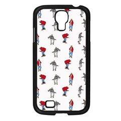 Hotline Bling White Background Samsung Galaxy S4 I9500/ I9505 Case (Black)