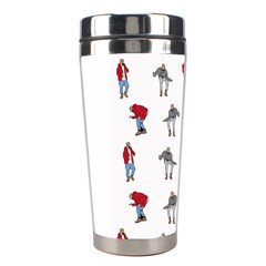 Hotline Bling White Background Stainless Steel Travel Tumblers