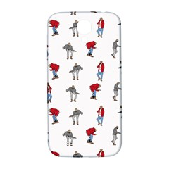 Hotline Bling White Background Samsung Galaxy S4 I9500/I9505  Hardshell Back Case