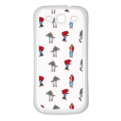 Hotline Bling White Background Samsung Galaxy S3 Back Case (White)