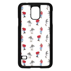 Hotline Bling White Background Samsung Galaxy S5 Case (Black)