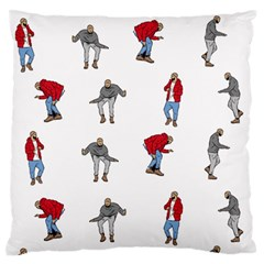Hotline Bling White Background Large Flano Cushion Case (One Side)