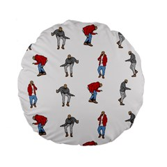 Hotline Bling White Background Standard 15  Premium Flano Round Cushions