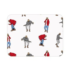 Hotline Bling White Background Double Sided Flano Blanket (Mini)