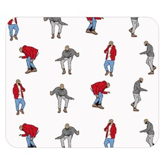 Hotline Bling White Background Double Sided Flano Blanket (Small)