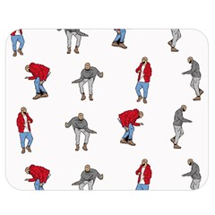 Hotline Bling White Background Double Sided Flano Blanket (Medium)