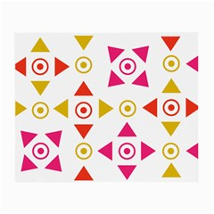 Spectrum Styles Pink Nyellow Orange Gold Small Glasses Cloth