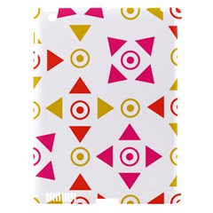 Spectrum Styles Pink Nyellow Orange Gold Apple iPad 3/4 Hardshell Case (Compatible with Smart Cover)