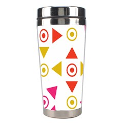 Spectrum Styles Pink Nyellow Orange Gold Stainless Steel Travel Tumblers