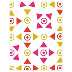 Spectrum Styles Pink Nyellow Orange Gold Drawstring Bag (large)