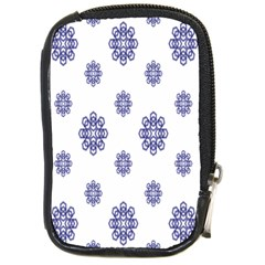 Snow Blue White Cool Compact Camera Cases