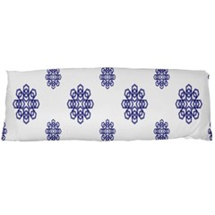 Snow Blue White Cool Body Pillow Case Dakimakura (Two Sides)
