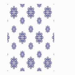 Snow Blue White Cool Small Garden Flag (Two Sides)