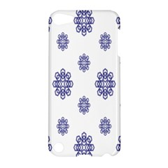 Snow Blue White Cool Apple iPod Touch 5 Hardshell Case