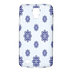 Snow Blue White Cool Galaxy S4 Active