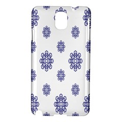 Snow Blue White Cool Samsung Galaxy Note 3 N9005 Hardshell Case