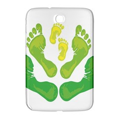 Soles Feet Green Yellow Family Samsung Galaxy Note 8.0 N5100 Hardshell Case