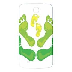 Soles Feet Green Yellow Family Samsung Galaxy Mega I9200 Hardshell Back Case
