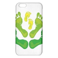 Soles Feet Green Yellow Family iPhone 6 Plus/6S Plus TPU Case