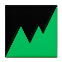 Soaring Mountains Nexus Black Green Face Towel