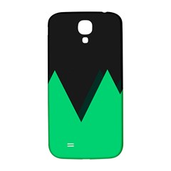 Soaring Mountains Nexus Black Green Samsung Galaxy S4 I9500/I9505  Hardshell Back Case