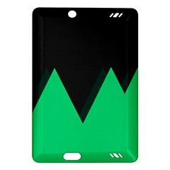 Soaring Mountains Nexus Black Green Amazon Kindle Fire HD (2013) Hardshell Case