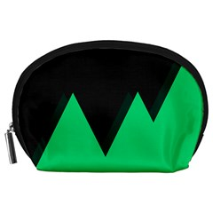 Soaring Mountains Nexus Black Green Accessory Pouches (Large)