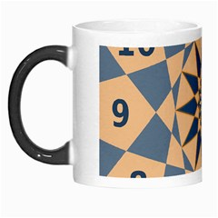 Stellated Regular Dodecagons Center Clock Face Number Star Morph Mugs