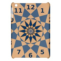 Stellated Regular Dodecagons Center Clock Face Number Star Apple iPad Mini Hardshell Case