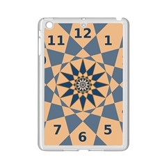 Stellated Regular Dodecagons Center Clock Face Number Star iPad Mini 2 Enamel Coated Cases