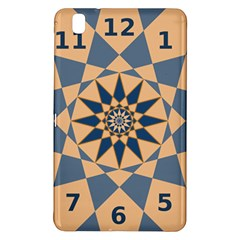 Stellated Regular Dodecagons Center Clock Face Number Star Samsung Galaxy Tab Pro 8 4 Hardshell Case