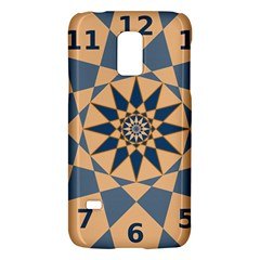 Stellated Regular Dodecagons Center Clock Face Number Star Galaxy S5 Mini