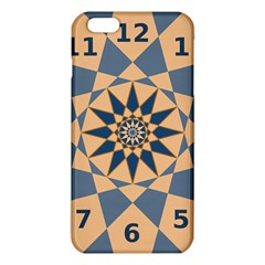 Stellated Regular Dodecagons Center Clock Face Number Star iPhone 6 Plus/6S Plus TPU Case