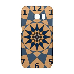 Stellated Regular Dodecagons Center Clock Face Number Star Galaxy S6 Edge